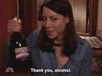 Watch and share Thanks Alcohol April GIFs on Gfycat