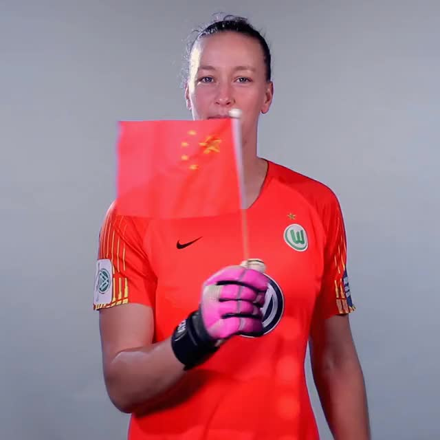 Watch and share 01 Flag China GIFs by VfL Wolfsburg on Gfycat