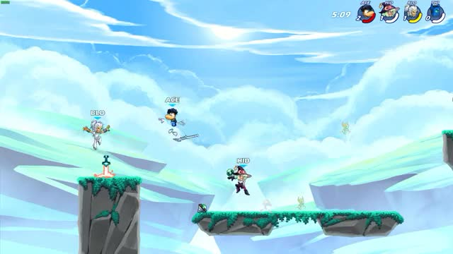 Watch and share Brawlhalla GIFs by Blondy Elephant on Gfycat