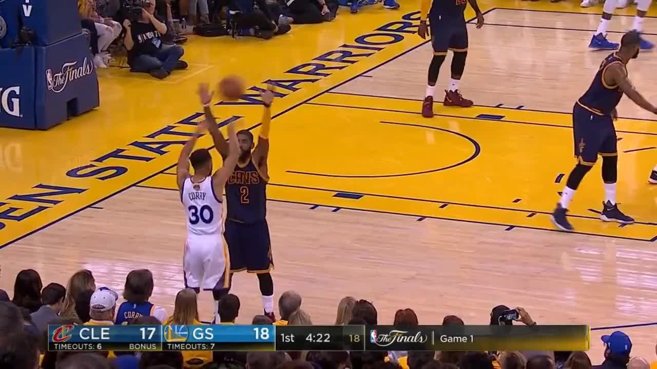2cc6eae133f2 The Full Superstar Duel  Kevin Durant vs. LeBron James In NBA Finals 2017  GIF