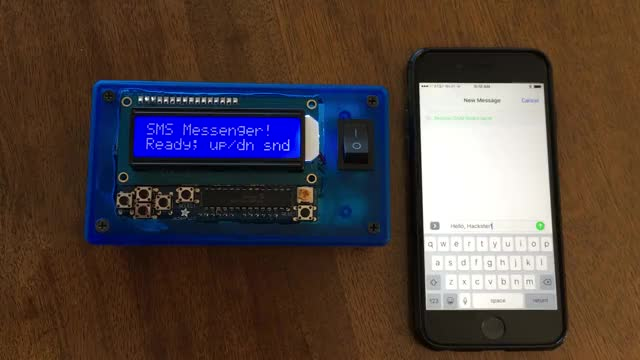 Watch Old-school two-way pager with Arduino GIF on Gfycat. Discover more arduino, sms, text message GIFs on Gfycat