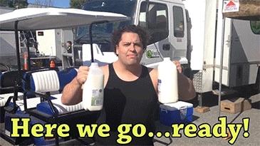 dwayne johnson, funny, milk, unexpected,
