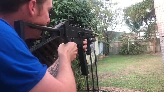 Watch and share UMP45 20m Range Test GIFs by mean0machine1 on Gfycat
