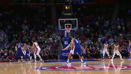 Watch J.J. Redick — Philadelphia 76ers GIF by Off-Hand (@off-hand) on Gfycat. Discover more 102318 GIFs on Gfycat