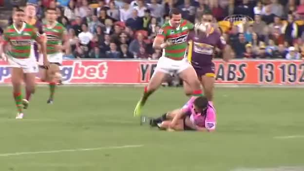 nrl, nrl knee to the head GIFs