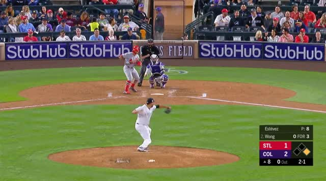 Watch and share Colorado Rockies GIFs and Baseball GIFs by _ben_clemens on Gfycat
