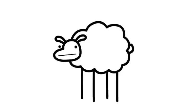 Watch and share Beep Beep I'm A Sheep GIFs on Gfycat