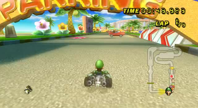Watch and share Mario Kart 120FPS.mkv GIFs on Gfycat