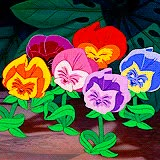 Watch and share Alice In Wonderland Flowers GIFs on Gfycat