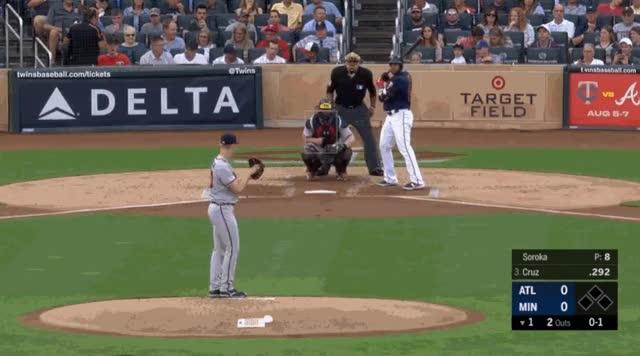 Watch and share Minnesota Twins GIFs and Atlanta Braves GIFs on Gfycat