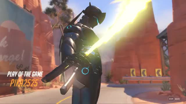 Watch and share Overwatch GIFs and Potg GIFs by pika2525 on Gfycat