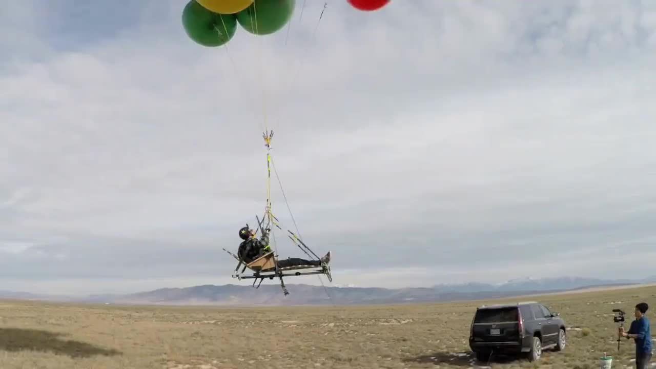 GoPro: Shotgun Balloon Drop GIFs