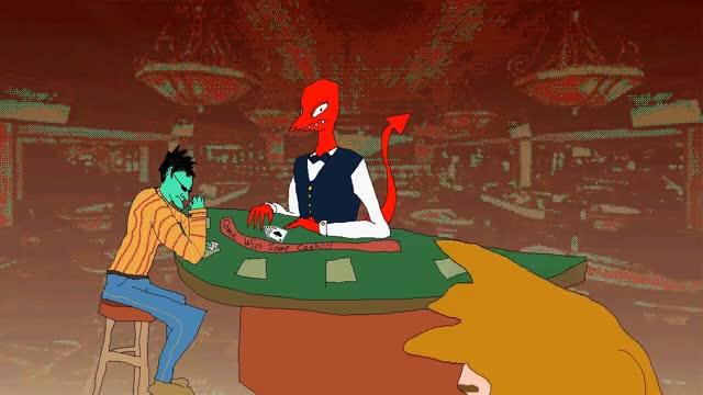 Watch Casino Night GIF on Gfycat. Discover more animation, parody, pilotredsun GIFs on Gfycat