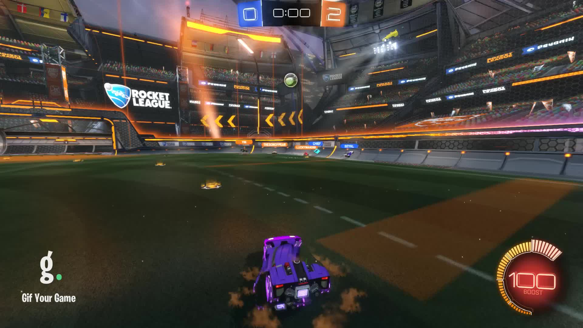 Gif Your Game, GifYourGame, Goal, Rocket League, RocketLeague, Walker, Goal 3: Walker GIFs