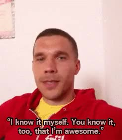 Watch and share Bad Lip Reading GIFs and Lukas Podolski GIFs on Gfycat