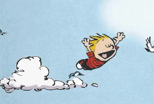 Watch and share Calvin And Hobbes GIFs on Gfycat