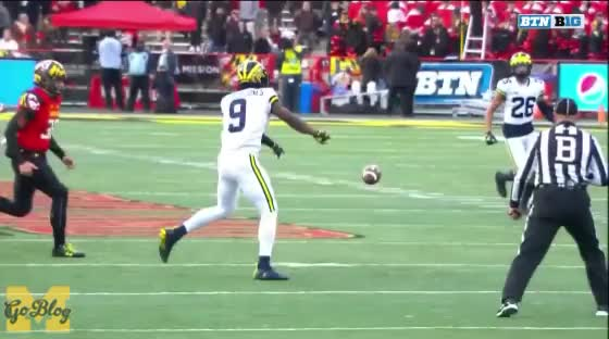 Watch and share Football GIFs and Maryland GIFs by MGoBlog on Gfycat