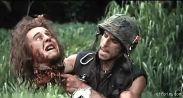 Watch tropic thunder ben stiller GIF on Gfycat. Discover more related GIFs on Gfycat