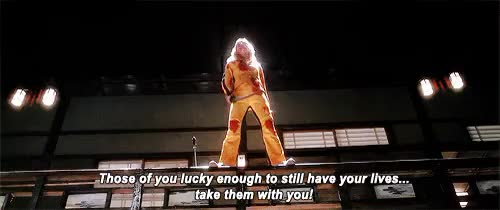 Watch and share Kill Bill GIFs and Lucky GIFs on Gfycat