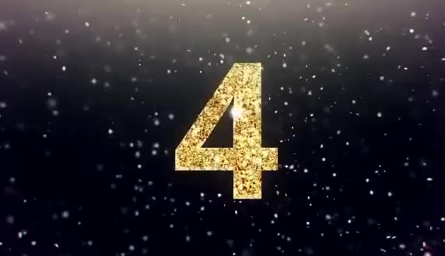 New Year Midnight Countdown Clock 2018 Full HD After Effect
