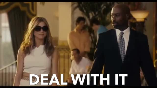 Watch this deal with it GIF by GIF Queen (@ioanna) on Gfycat. Discover more Aniston, GIF Brewery, Jennifer, Just, deal with it, go, it, sunglasses, with GIFs on Gfycat