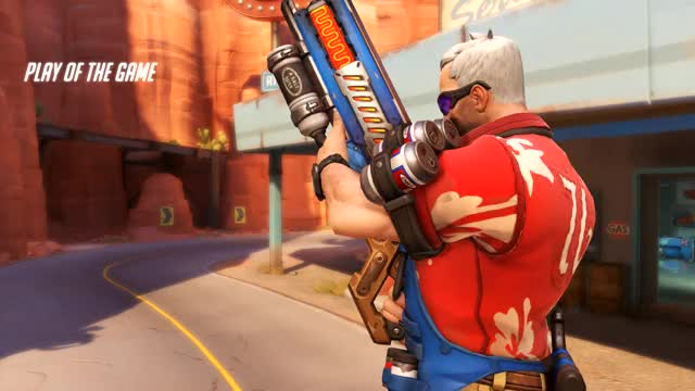 Watch Soldier: 76 GIF by @tgilbs822 on Gfycat. Discover more related GIFs on Gfycat