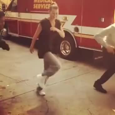 Watch and share Ellen Pompeo Dancing GIFs on Gfycat