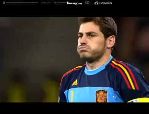 Watch and share Casillas GIFs and Football GIFs on Gfycat