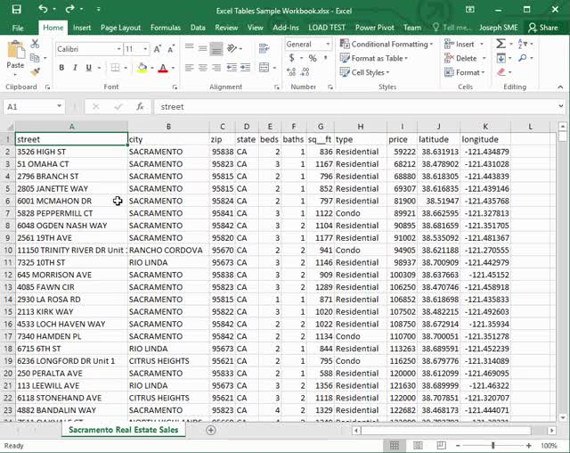 Watch and share Excel Tables - Create The Table GIFs on Gfycat