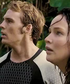 Watch this the hunger games GIF on Gfycat. Discover more by justin, catching fire, finnick odair, gif, katniss everdeen GIFs on Gfycat