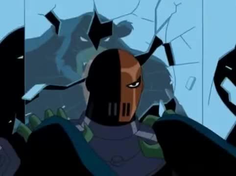 Teen Titans-Slade vs Beast Boy