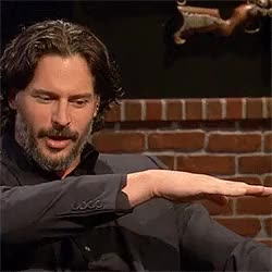 Watch Je suis prest, motherfucker. GIF on Gfycat. Discover more Joe Manganiello, The Nerdist, my gifs GIFs on Gfycat