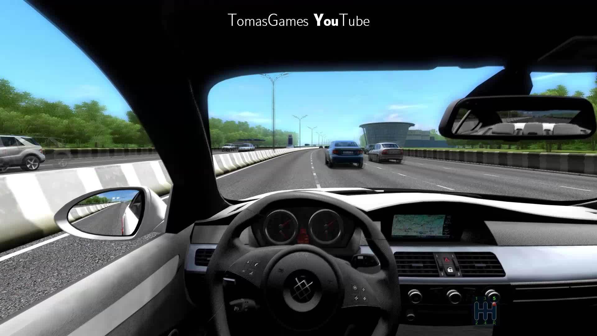 60fpsgifs, bmw m5, carcrash, driving, fail, russia, 60fps BMW M5 Crash Fail aka How you shouldn't drive a car GIFs