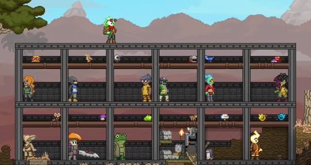 Watch and share Starbound GIFs by minerscool on Gfycat
