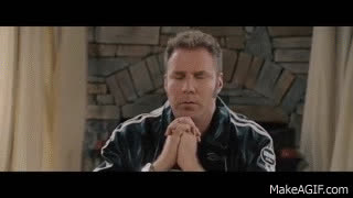 will ferrell, Talladega Nights: The Ballad of Ricky Bobby (1/8) Dear Lord Baby Jesus -  (2006) HD GIFs