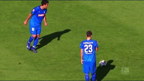 Watch and share Sejad Salihovic. Werder Bremen - Hoffenheim. 2008-09 GIFs by fatalali on Gfycat