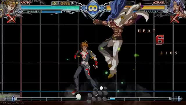 Watch and share BBCF: Naoto Expert 2 GIFs by snuffychris605 on Gfycat