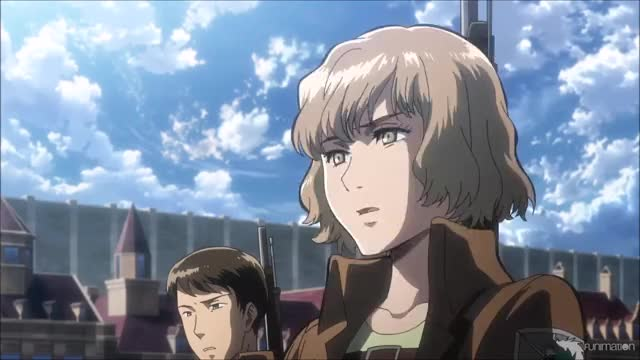 Hitch can barely watch  Attack on Titan Ep 23 GIF | Find, Make