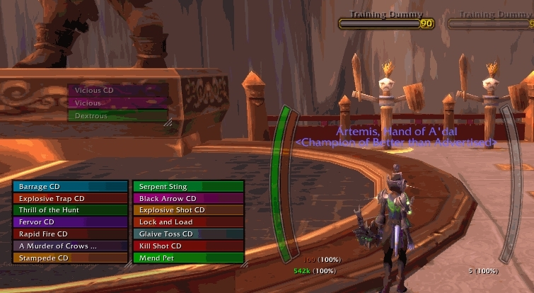 wowui, [PRESET] Cropped example of my WeakAuras + NeedToKnow cooldown/proc indicators. (reddit) GIFs