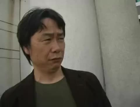 Watch miyamoto GIF on Gfycat. Discover more bros, conference, developers, game, mario, mega64, nintendo, super GIFs on Gfycat