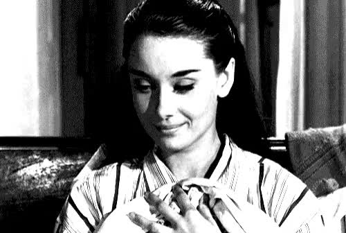 Watch this audrey hepburn GIF on Gfycat. Discover more audrey hepburn, celebrities, celebrity, celebs, smile GIFs on Gfycat