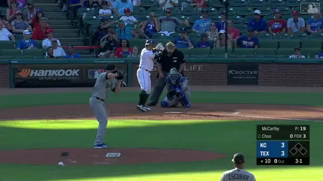 Watch and share Kansas City Royals GIFs and Texas Rangers GIFs by thsrmaqnftksdlq on Gfycat