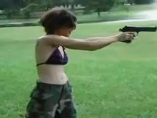 Firearm Friday, Chicks with guns GIFs