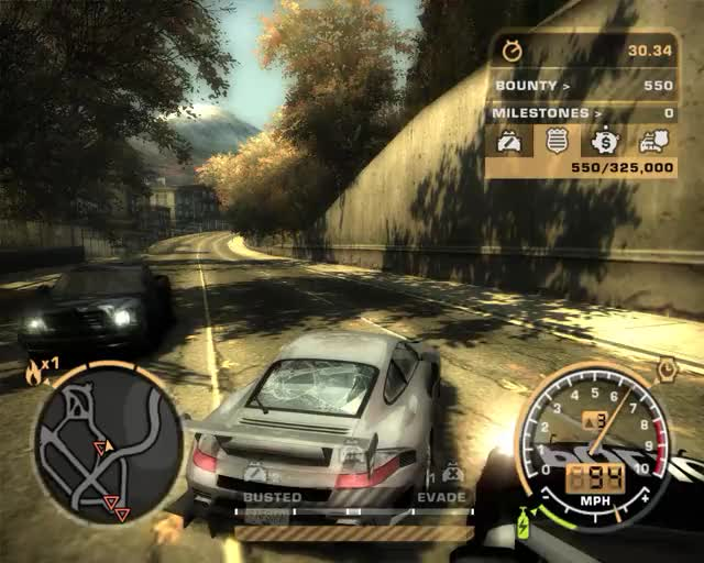 Watch and share Still Got Some Moves In NFS: Most Wanted (2005) GIFs by himntor on Gfycat