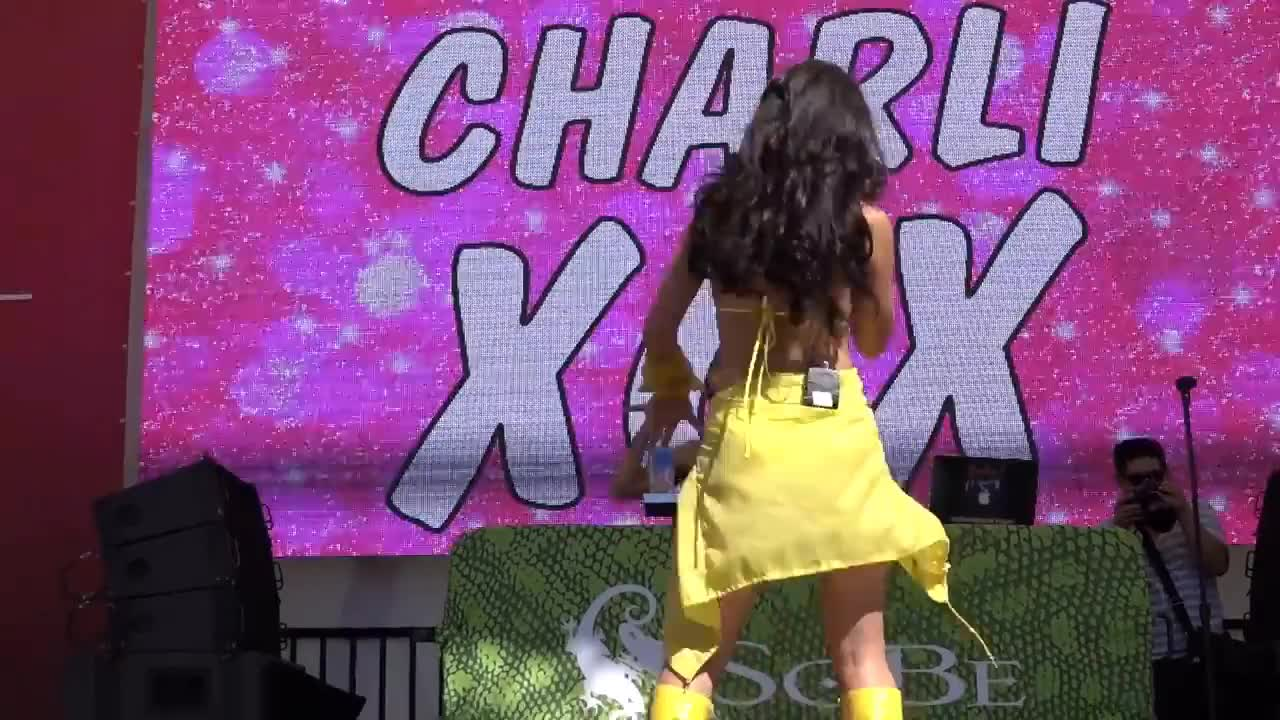 charli xcx, dancing, music, party time, Charli XCX - Secret (Shh) GIFs