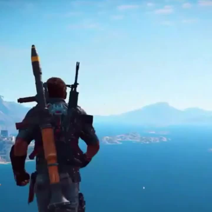 Precision flying (IB JessicaLikesVideogames) #JustCause GIFs