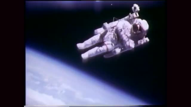 Watch and share Bruce Mccandless Ii GIFs and Space Shuttle GIFs on Gfycat