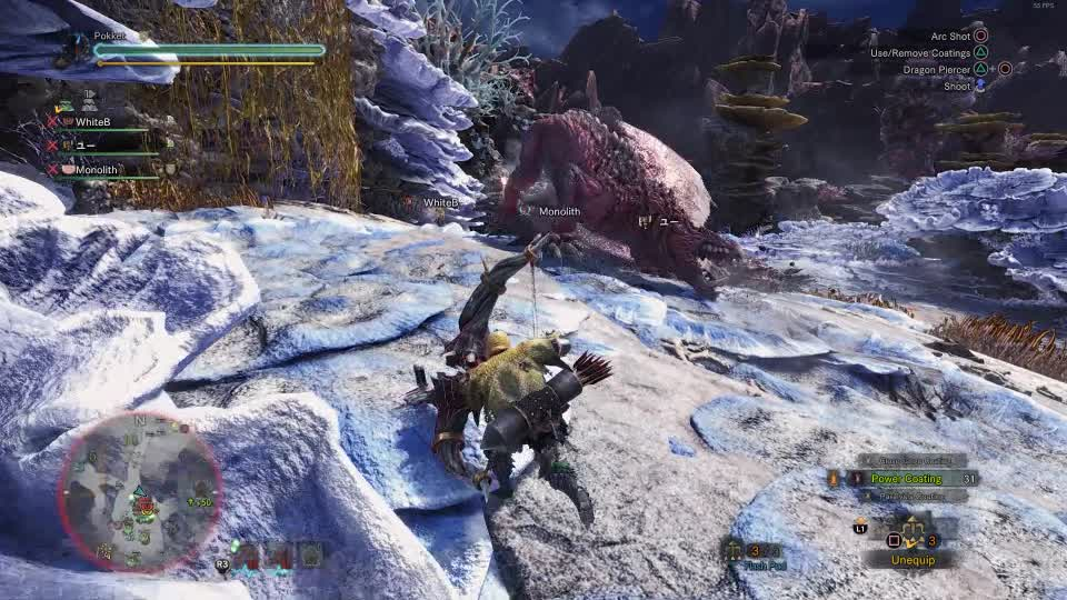MHW, Monster Hunter, Monster Hunter World, owoop GIFs