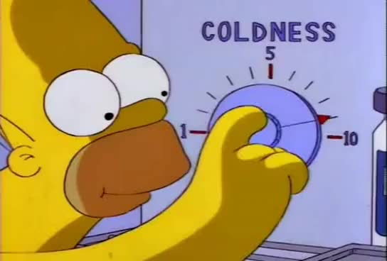 Watch and share Homer's Solution To Air Conditioning GIFs on Gfycat