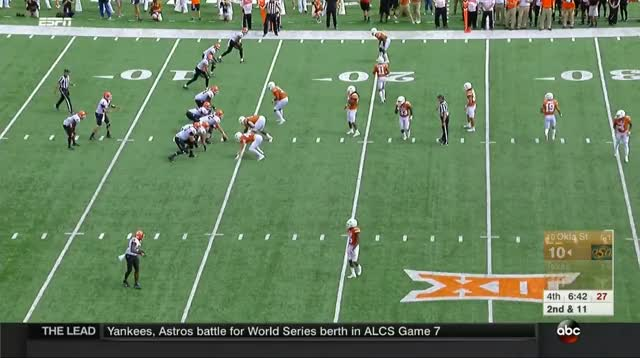 Watch and share Texas Longhorns GIFs and Ncaa Football GIFs by Pistols Firing on Gfycat